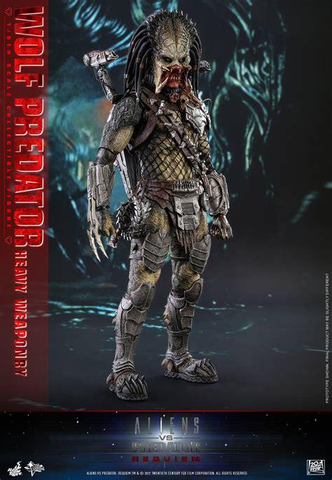 hot toys predator hot toys aliens vs predator requiem wolf predator figure