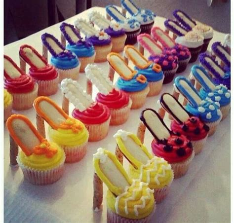 high heel birthday decorations high heel cupcakes oooh la la recipe birthdays