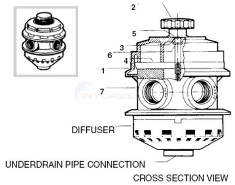 pool filter valve diagram hayward multiport 6 way gm valve parts inyopools