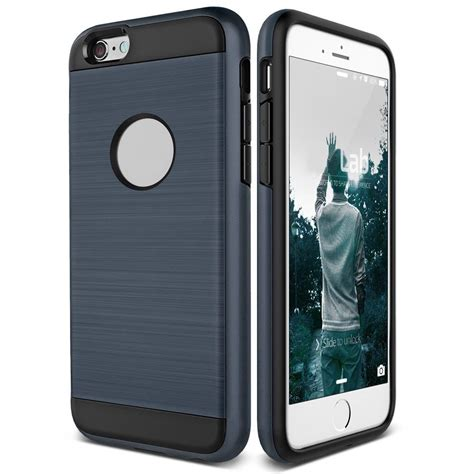 shockproof hybrid rubber protective brushed