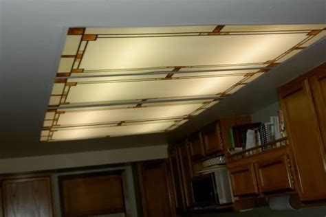Fluorescent Lighting Decorative Fluorescent Light Covers Kitchen Light Covers