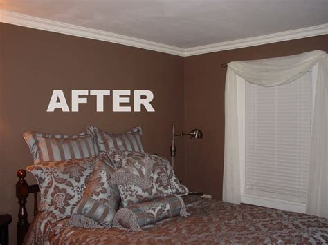 Living Room Crown Molding Before And After Crown Molding Photo Gallery Before And After Foam Crown