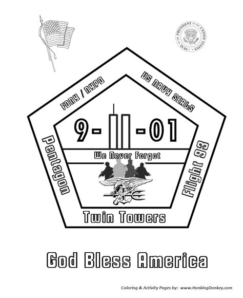 9 11 Memorial Coloring Pages by Army Special Forces Coloring Pages