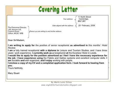 Writing Your how to write a cv and a covering letter