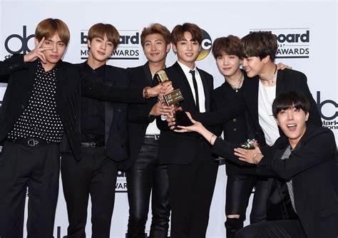 bts awards k pop boy group bts looks to future after billboard music