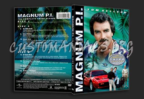 Magnum P I Season 3 magnum p i season 3 dvd covers labels by customaniacs