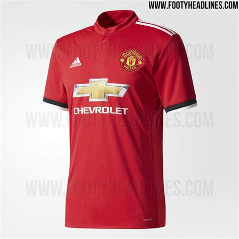 manchester united 17 18 home kit released footy headlines