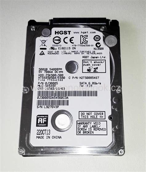 Hitachi 500gb Sata 2 5 hdd pevn 233 disky sata 2 5 quot hitachi 2 5 quot 500gb sata