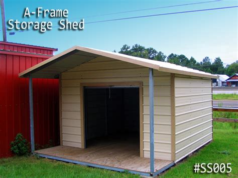 Metal Shed Storage by Storage Sheds Portable Buildings Carports And Custom Metal Buildings