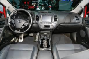 Kia Forte Interior Refreshed 2017 Kia Forte Debuts New Base Engine In Detroit