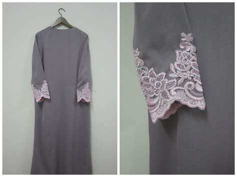 pattern jubah lace saljubk diy jubah with lace