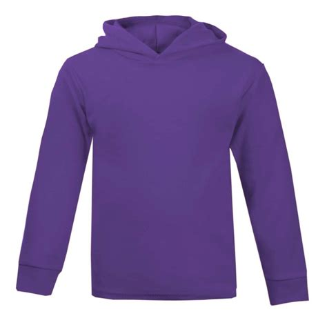 Hoodie Purple purple cotton hoodie by wholesale clothing