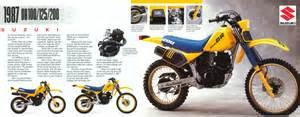 Suzuki Dr100 Suzuki Dr 100 125 200 1987 Vinduro