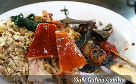 Krupuk Babi Bali Cap Babi Lima babi guling chandra tempat makan di denpasar bali