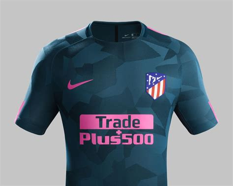 Celana Atletico Madrid 3rd 17 18 sortie du maillot nike de l atl 233 tico madrid third 2017 2018