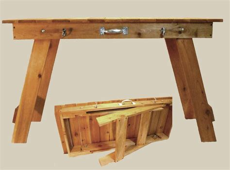 Portable Craft Table by Portable Folding Grill Garden Craft Table