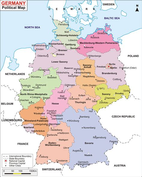 road map of germany germany road map to roadmap of world maps