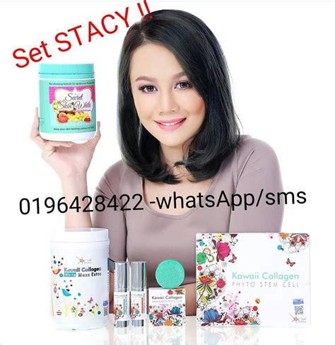Kawaii Collagen Set Jihan farizadarwish secret skin white kawaii