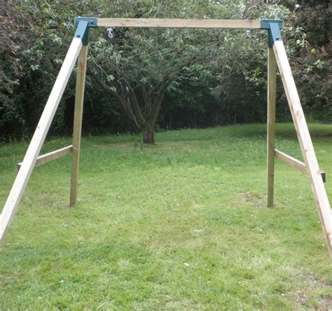 square swing ventura nest swing frame square timber just outdoor toys