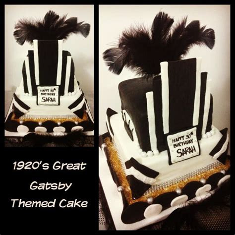 Great Gatsby Inspired  Ee  Birthday Ee   Cake Box Of Dreams Cakes