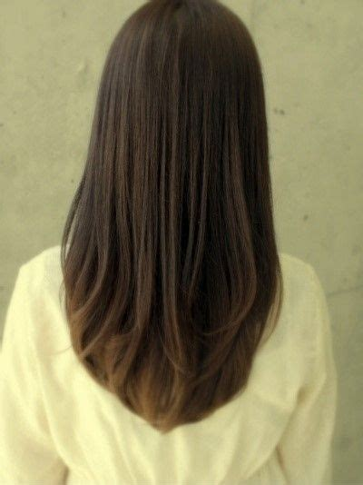 hairstyles to cut long hair wish my hair would either go straight like this or curl a
