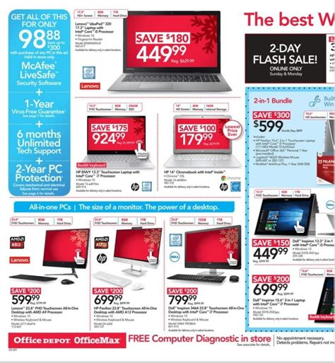 cyber monday office desk deals office depot cyber monday ad 2017