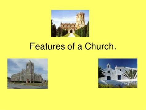 layout features ks2 features of a church by gillchadwick teaching resources