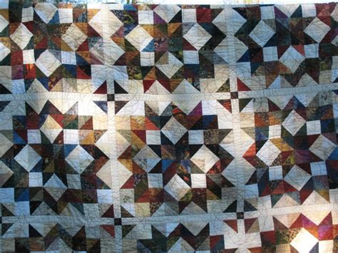 Carpenters Quilt Pattern by I Made This Buggy Wheel Or Carpenters Wheel Quilt From A