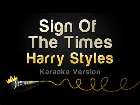 sing testo testo sign of the times harry styles testi canzone