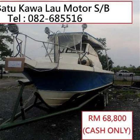 buy my boat cash boat with johnson engine for sale from sarawak kuching