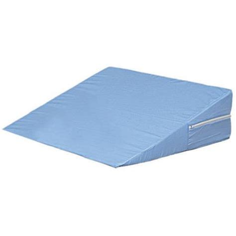 bed wedge walmart dmi foam bed wedge blue 12 quot x 24 quot x 24 quot walmart com