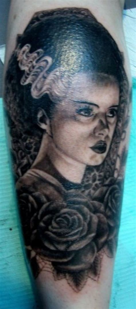 bride of frankenstein tattoo discover and save creative ideas