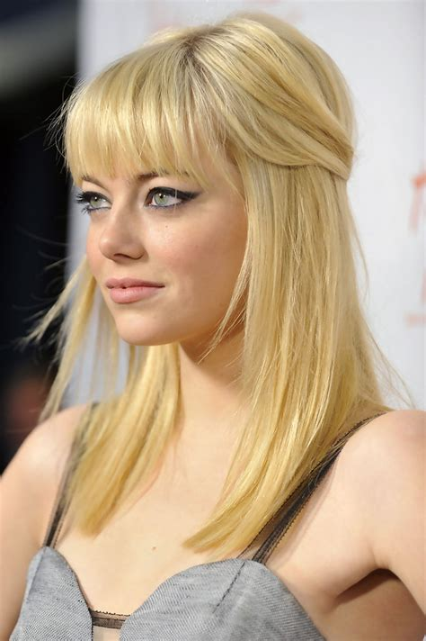 emma stone blonde hair emma stone pale blonde blonde hair color ideas and