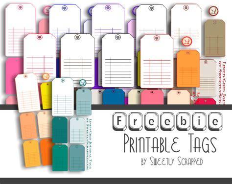 printable manila tags sweetly scrapped new designs and freebie printable manila