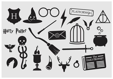Hairstyle Tools Designs For Silhouette Harry by Free Printable Hogwarts House Banner