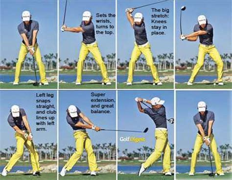 proper way to swing a golf club step by step golf swing blog the perfect golf pro