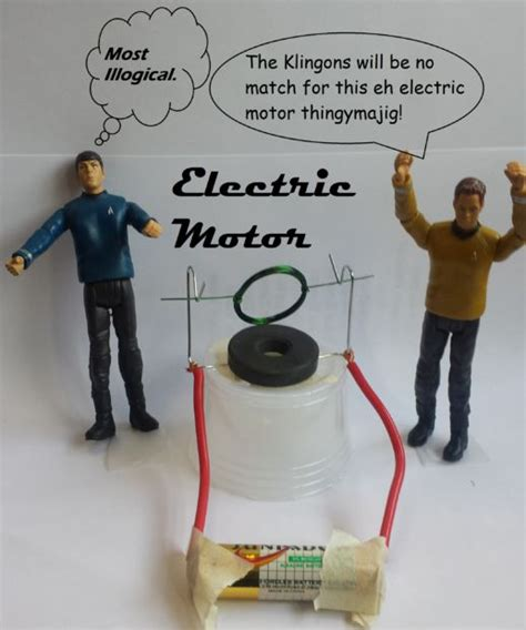 what do you need to make an electric circuit mini electric motor