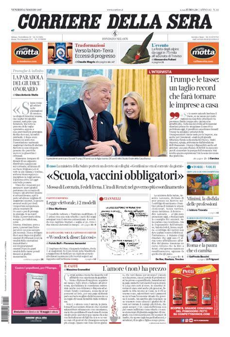 giornali di cucina in edicola l edicola italiana i giornali di oggi cronache della