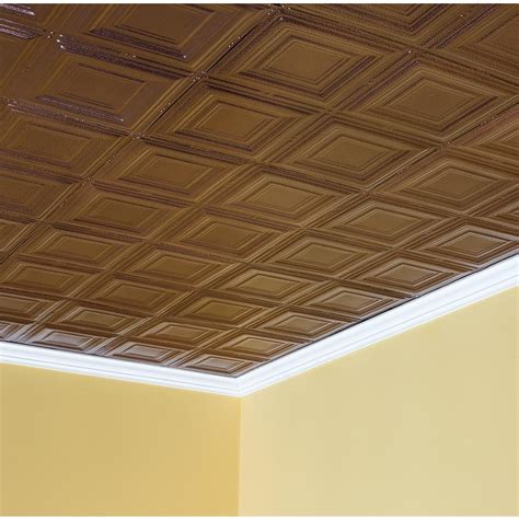 Tin Ceiling Tile Syracuse In Penny Vein 2x2 Lay In Lay In Ceiling Tile