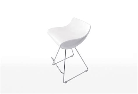 fixed bar stool momo fixed stool white beyond furniture