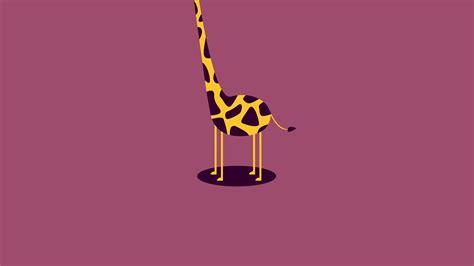 ag giraffe cute minimal simple papersco