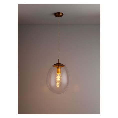 bulle clear glass ceiling light buy now at habitat uk