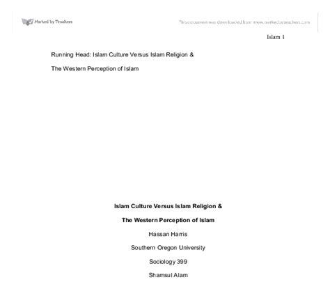 Running Is My Essay running islam culture versus islam religion the western perception of islam gcse