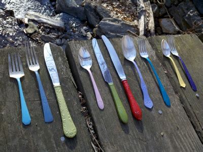 colorful silverware 6footsally colorful cutlery