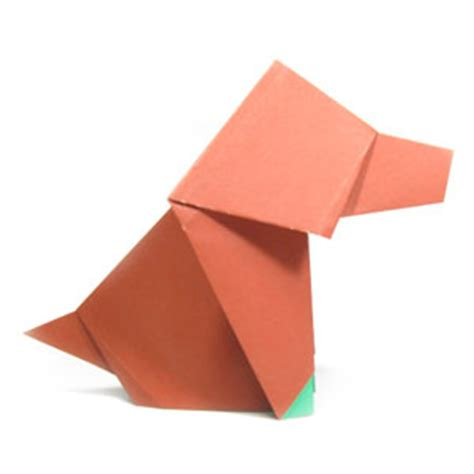 Origami Sitting - how to make a sitting origami page 1