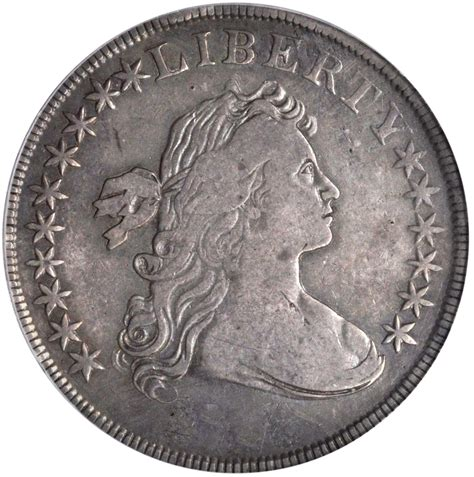 draped bust dollar value of a 1796 bb 65 draped bust silver dollar rare
