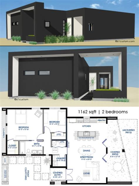 800sft house plan 17 best ideas about small modern house plans on pinterest modern house plans small