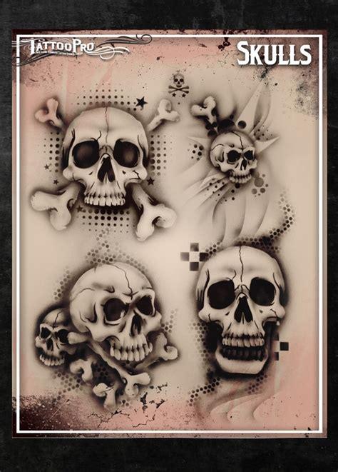 pro black tattoos pro stencil skulls atps 101 hokeypokey shop