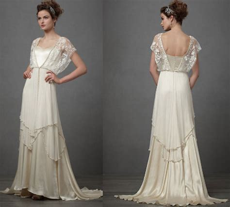 Vintage Style 1920s Wedding Dresses by Vintage Wedding Dresses 1920 Cherry