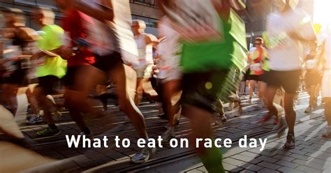 what to eat on race day polar blog